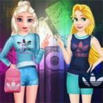 Princess Adidas Style